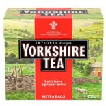 Yorkshire 80 Teabags 250G